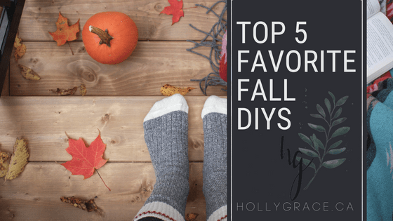 My top 5 favorite fall projects