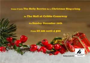 Join the Holly Berries at the Mall Cribbs Causeway @ The Mall at Cribbs Causeway | Patchway | England | United Kingdom