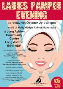 Pamper Evening 2019 @ Long Ashton Community Centre | Long Ashton | England | United Kingdom