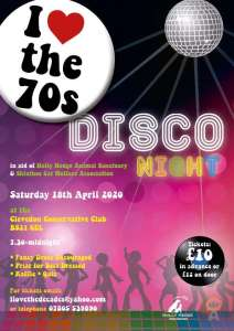 I Love The 70's Disco - 2020 @ CANCELLED | England | United Kingdom