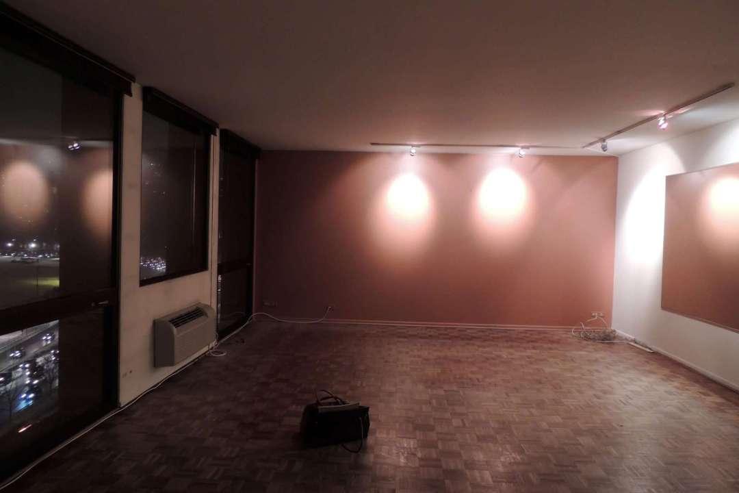living room before design