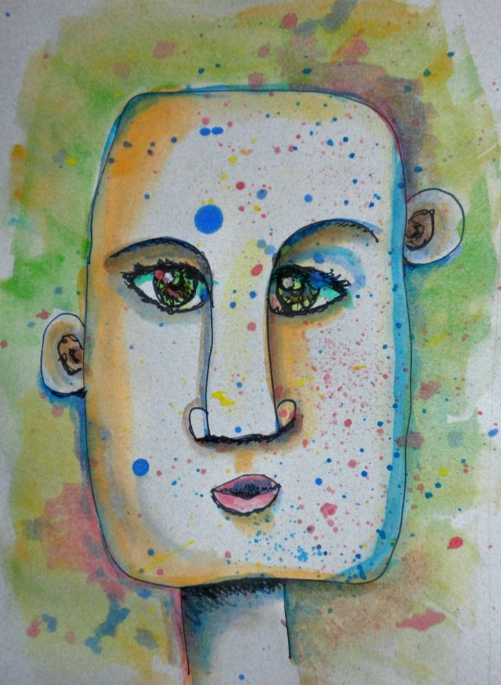 100 Faces: A Quick Sketch Project (4/6)