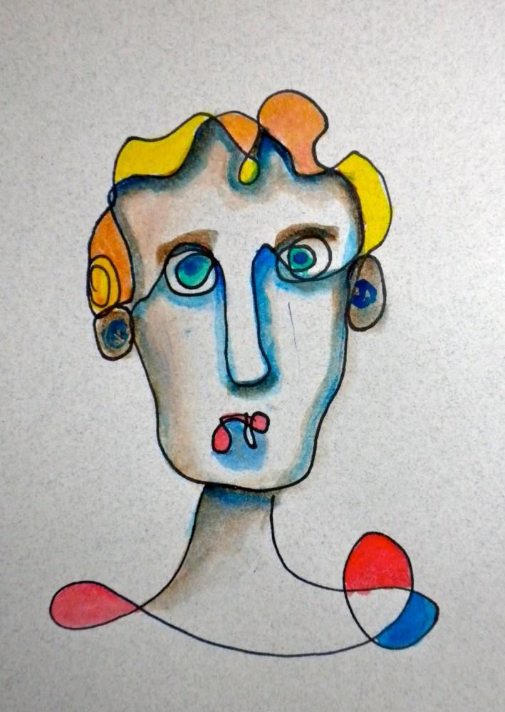 100 Faces: A Quick Sketch Project (3/6)