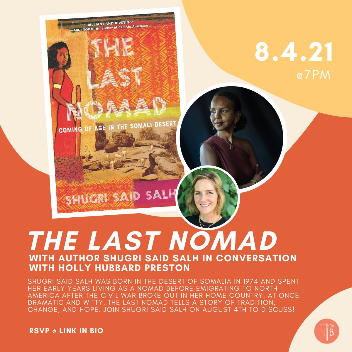 Virtual Book Talk: The Last Nomad