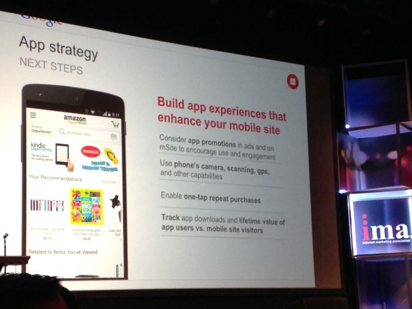 build app that enhances site