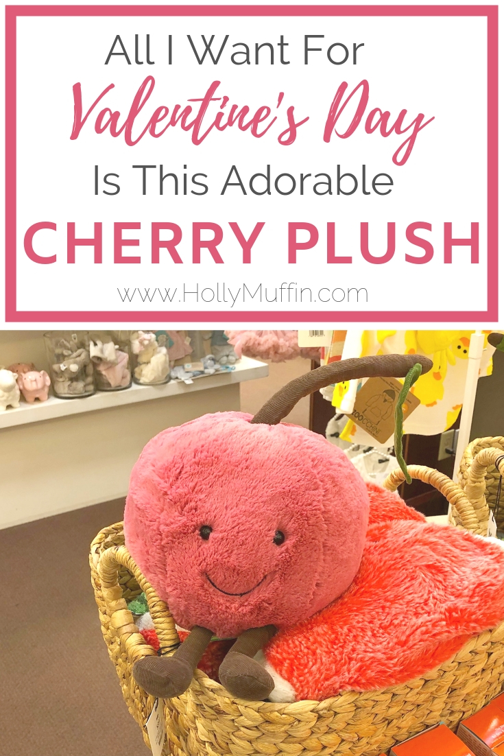 All I want for Christmas is this adorable Cherry Plush by JellyCat, available at Indigo Books and Music!