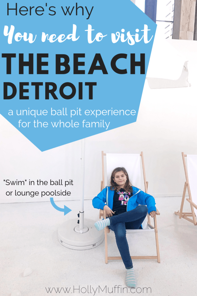 Here's why you need to visit The Beach Detroit before it closes. It's a completely free and unique family experience. #FamilyBlogger #ThingsToDo