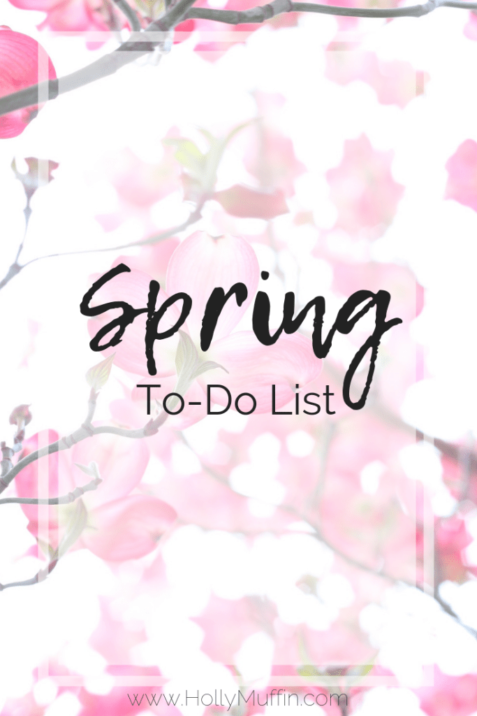See what I've got planned this #Spring - here's my Spring to do list. #Planning #SpringVibes