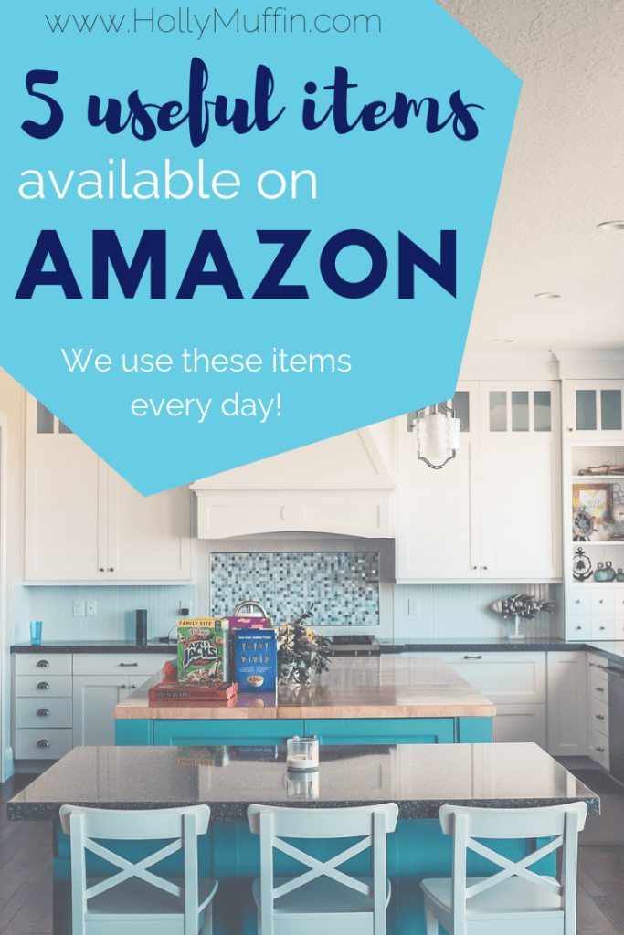 5 useful items available from Amazon. We use these items every single day! #Useful #Amazon