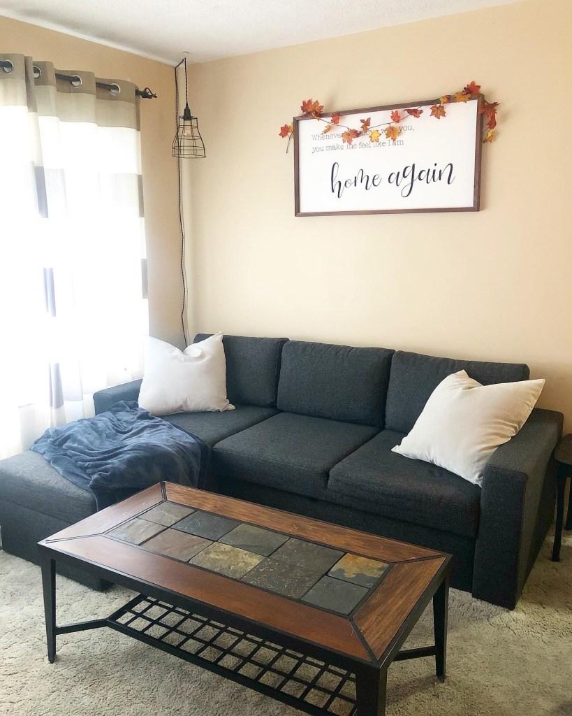 JYSK Mariager storage sofa bed