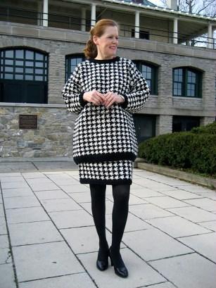 Calvin Klein Houndstooth Suit