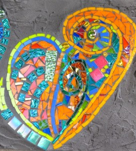kat gottke mosaic heart