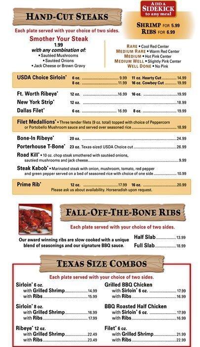 Fresh Order Menu Prices