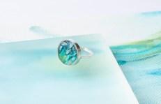 Botanical Silver Ring