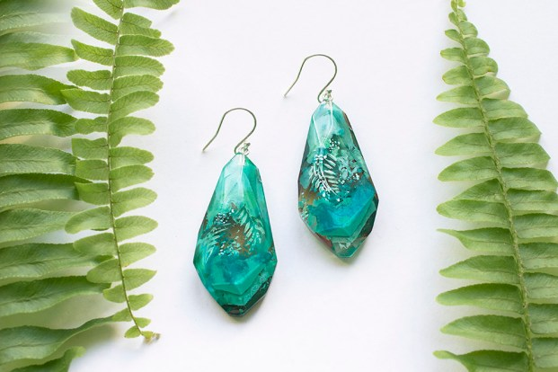Botanical Gemstone Earrings