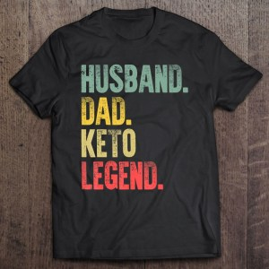 Husband dad keto legend vintage version shirt