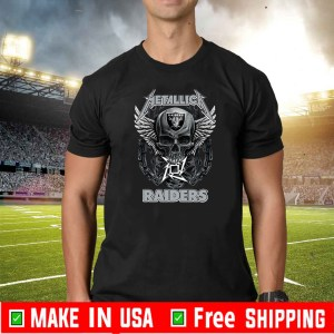 Metallica Raiders For T-Shirt
