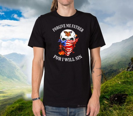 US Marine forgive me father for I will sin Official T-Shirt