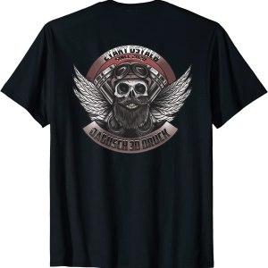 2 Stroke Ostalb Jagusch Motif On The Back T-Shirt