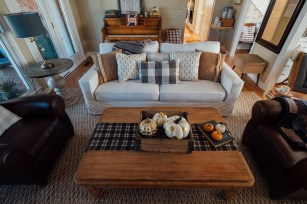 pottery barn sofa