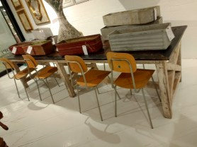 vintage french school chairs, available soon!