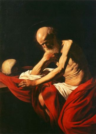 St Jerome - Caravaggio