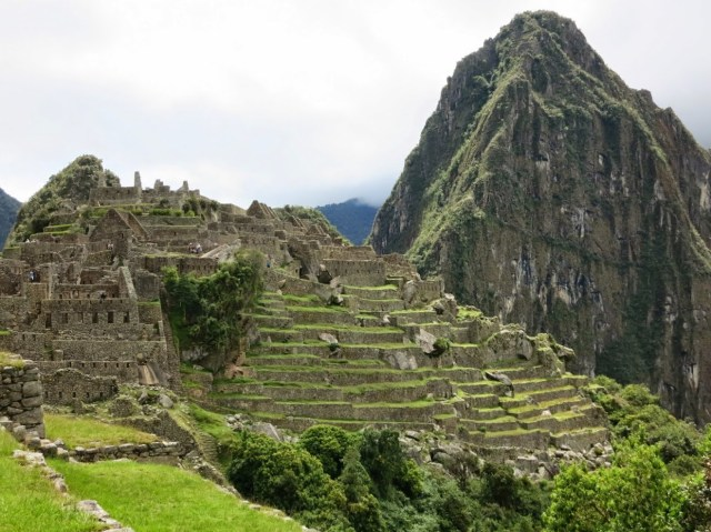Climbing Wayna Picchu