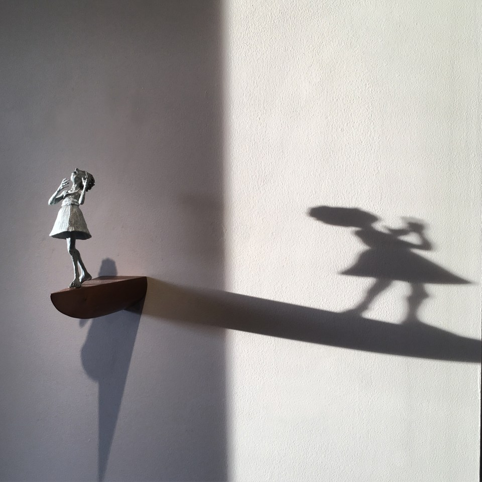 Its a Thin Line-wall shadow-Holly Wilson