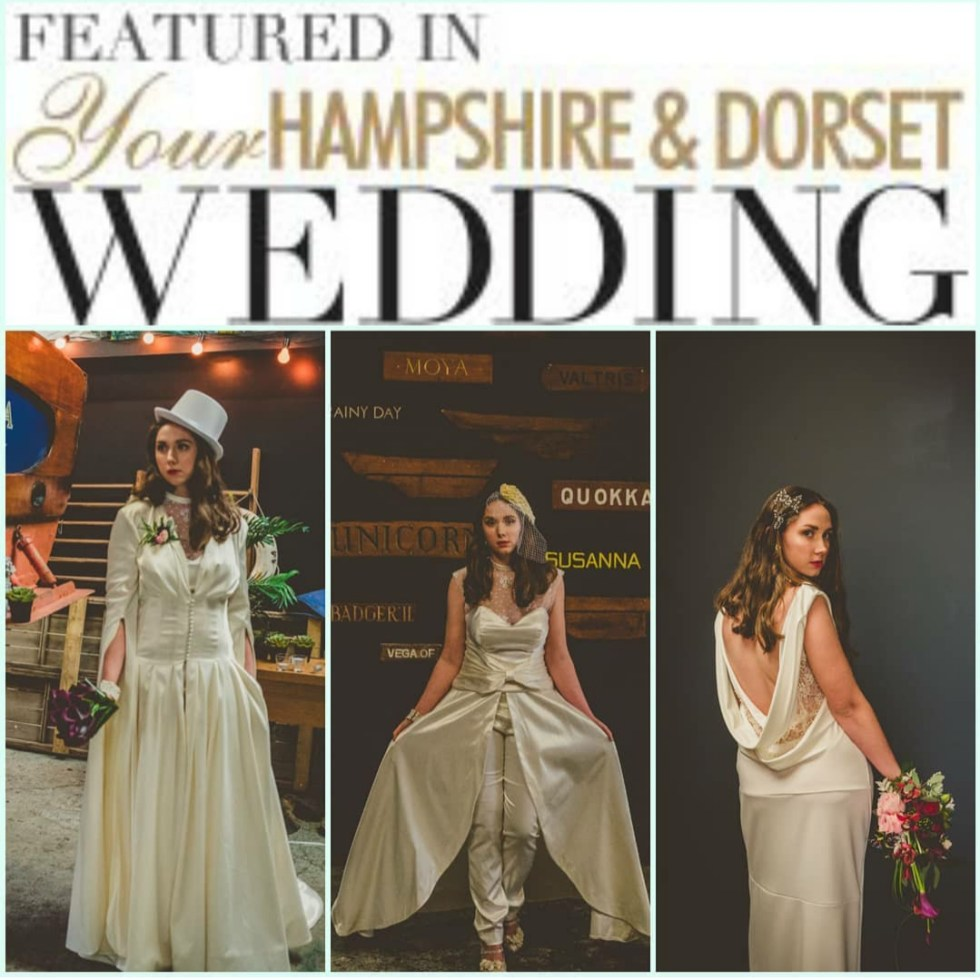 Holly Winter Couture in Your Hampshire & Dorset Wedding