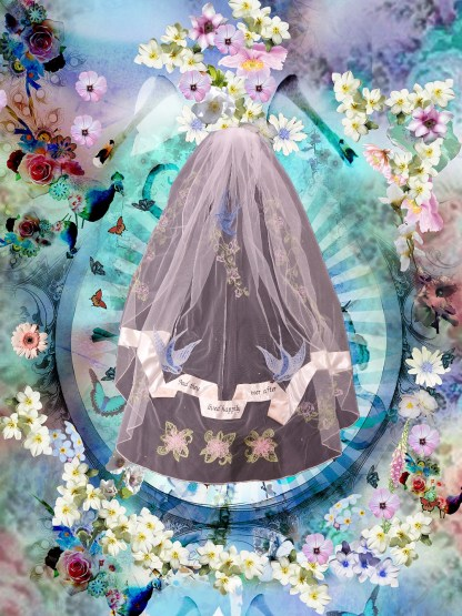 Happily Ever After veil Holly Winter Couture