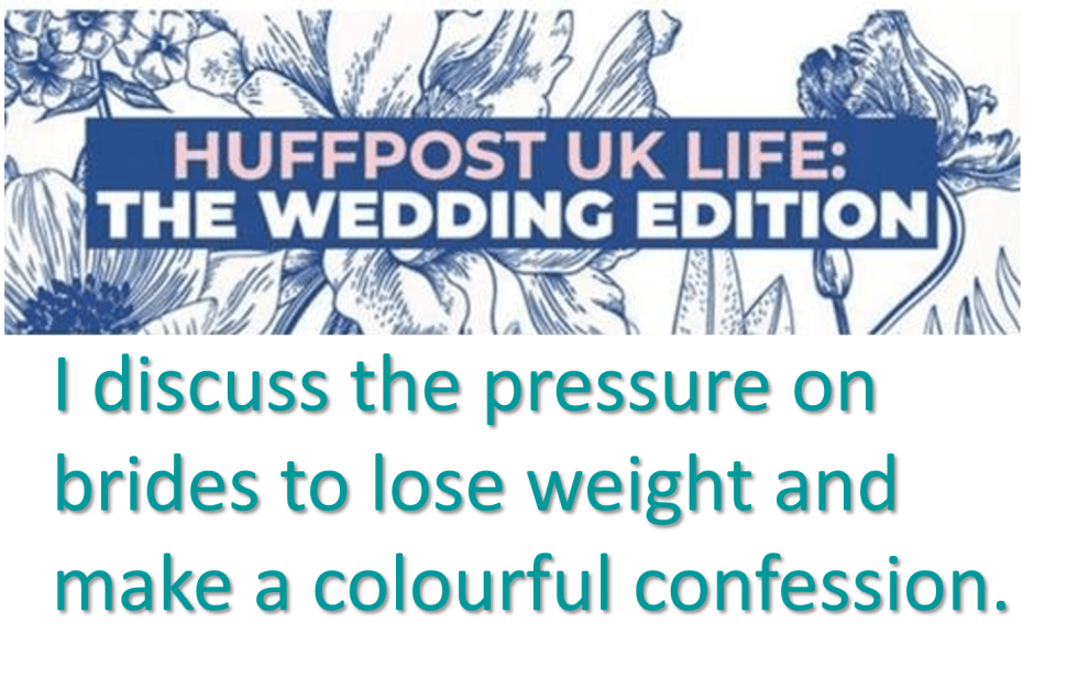 Holly Winter Coutyre in Huffpost Wedding Edition