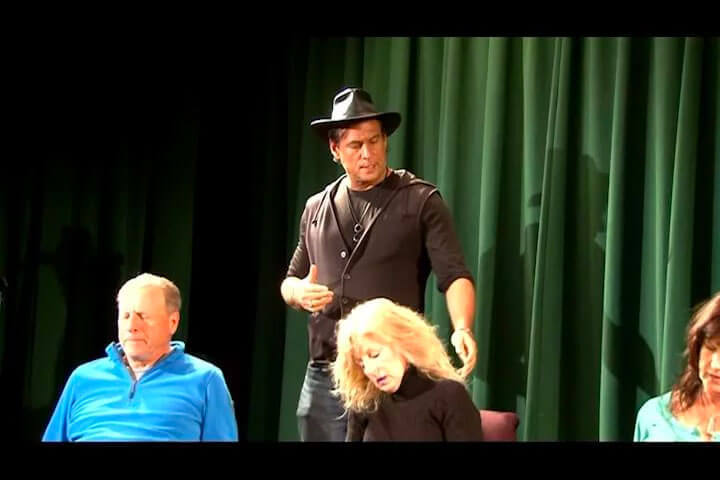 acting lesson stage fright