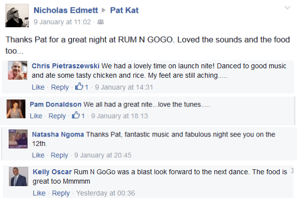 feedback rum n gogo launch