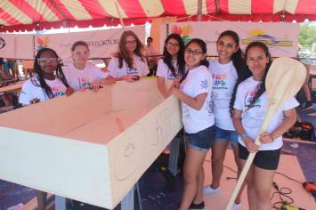 IMG_9091 Plywood regatta races inspire Hollywood students to develop marine engineering skills