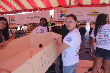 IMG_9092 Plywood regatta races inspire Hollywood students to develop marine engineering skills