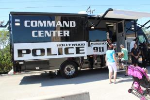 IMG_9357 City of Hollywood hosts public safety event