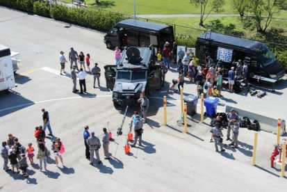 IMG_9358 City of Hollywood hosts public safety event