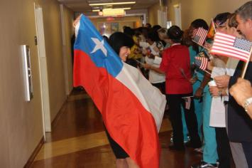 pt4 Hollywood's Memorial Rehabilitation Institute holds Olympics-themed event for patients