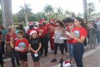 christmasnearthebeach3 Carolers from the community kick-off annual Christmas Near the Beach event