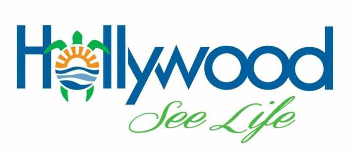 Hollywood logo with tagline