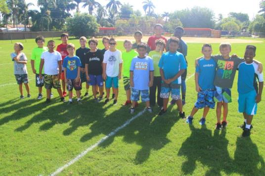 IMG_4255 Camps at South Broward High School offer sports or STEM for all ages