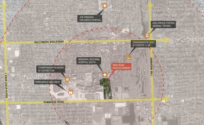Hollywood commission ranks park road development first for large project