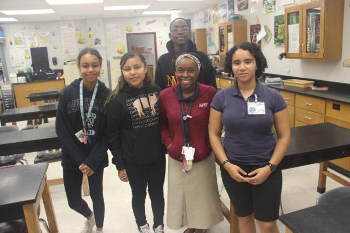 Mcnicol middle school students participate in kindness challenge