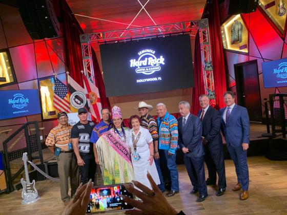 New guitar-shaped hotel to open oct 24; seminole hard rock hotel and casino holds preview event