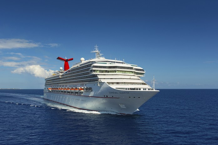 Port everglades welcomes carnival sunrise to her new winter homeport after $2 million in renovations