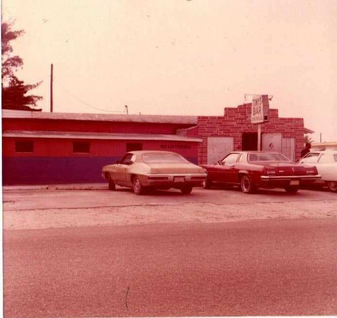 Tony's bar 1970, photo compliments of Emmanuel George