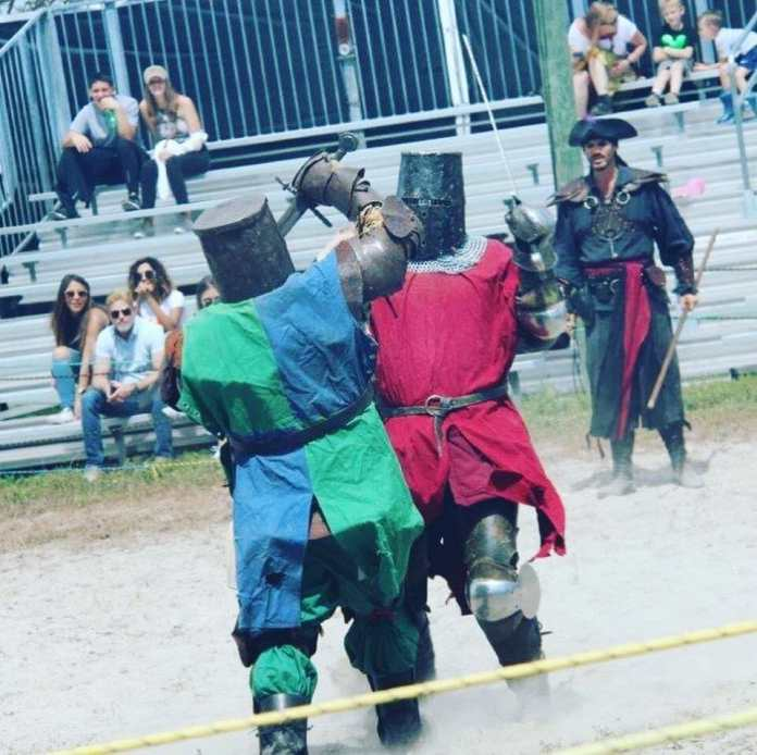 History of Chivalry at Renaissance Festival