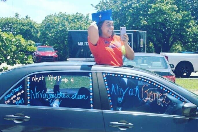 Hollywood Hills graduates honored with a parade