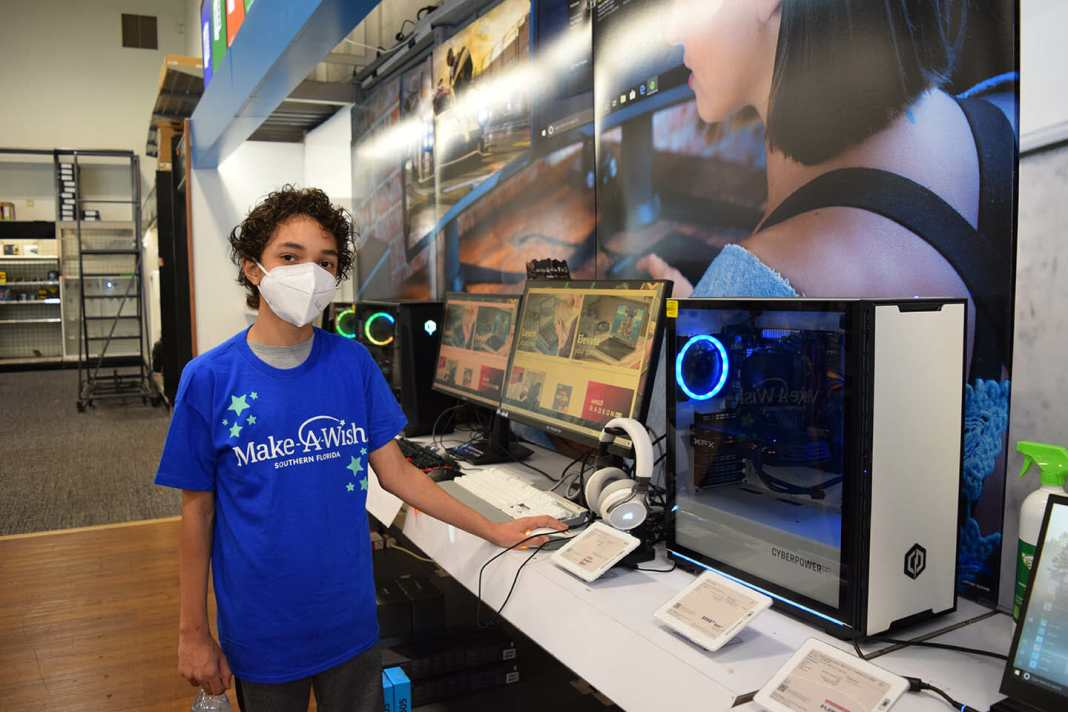 Hollywood Child with Cystic Fibrosis Enjoys Private Shopping Spree from Make-A-Wish