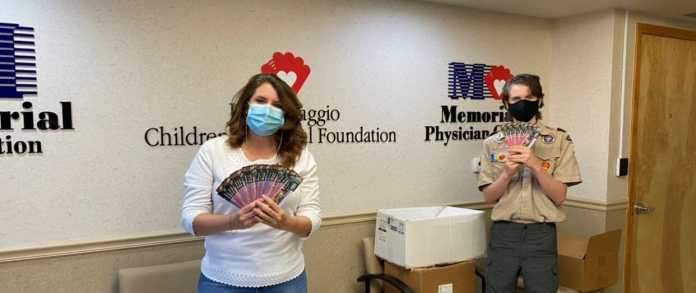 Local Scouts Fundraiser Nets 14,000 'Camp Cards' to Donate to Memorial Healthcare System Workers